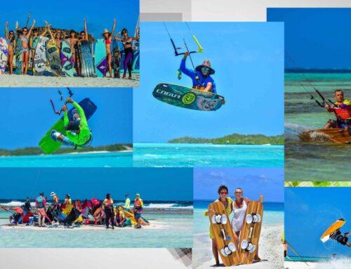 Kitesurfing  en Los Roques